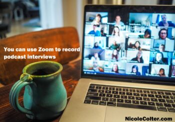 You can use Zoom to record podcast interviews